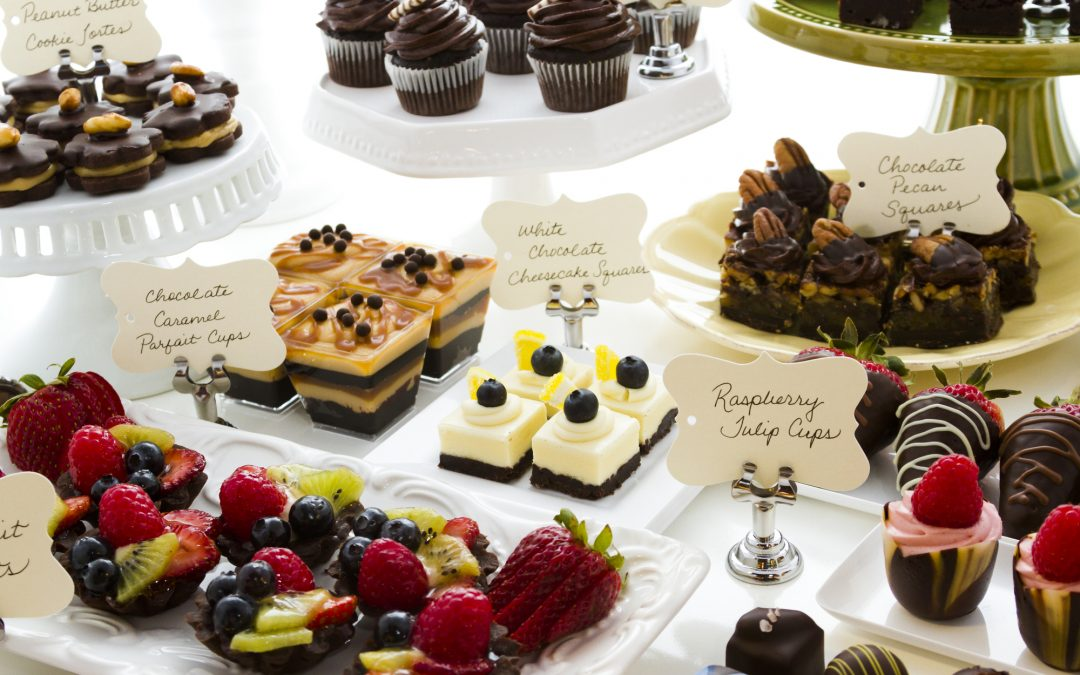 Dessert Ideas for your Next Catered Event